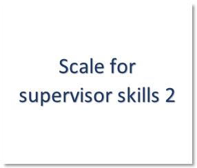 Supervisor skills 2